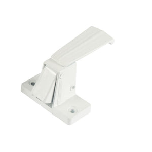 "Storm Door Interior Latch with 1-3/4"" Screw Holes - White"