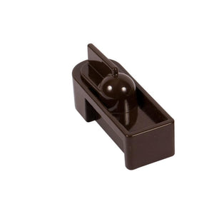 "Storm Door 1"" Dead Bolt - Brown"