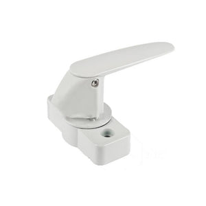 "Storm Door Interior Latch with 1-3/4"" Screw Holes for AluminArt Storm Doors - White"