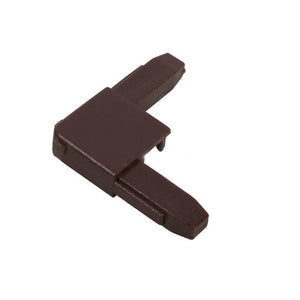 "Storm 1-3/8"" Screen Corner - Brown"