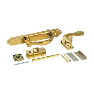 AluminArt Storm Door Latch and Handle Hardware