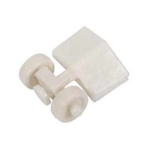 "Closet Door Roller with 1/2"" Flat Edge Roller for Acme Closet Doors"