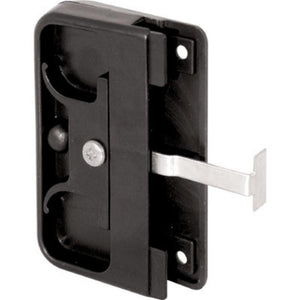 "Sliding Screen Door Latch and Pull with 2-5/8"" Screw Holes"
