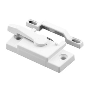 "Window Lock With 2-1/4"" Screw Holes With 3/8"" Hole Backset With Lug"