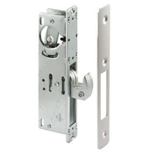 "Commercial Door 1-1/8"" Backset Narrow Stile Hook Throw Deadlock"