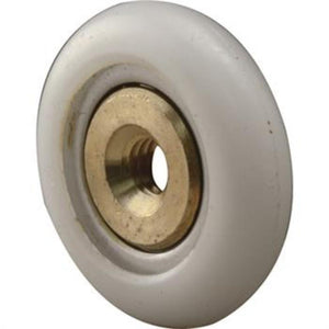 "Shower Door 3/4"" Plastic Round Edge Ball Bearing Roller"