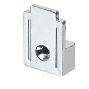 "Mirror Clip 3/4"" Wide Squared Metal"