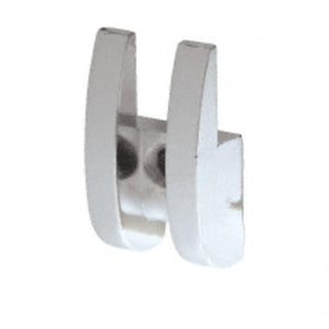 "Mirror Clip 11/16"" Wide Rounded Metal"