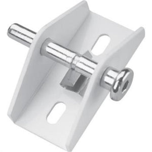 "Security ""Push-Pull"" Door and Window Lock - White"