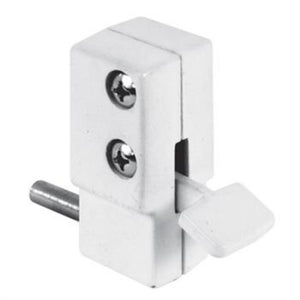 "Security ""Step-On"" Patio Door Lock - White"