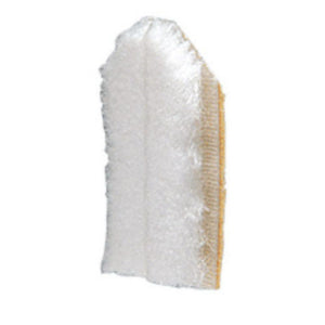 Door Jamb Dust Pad White