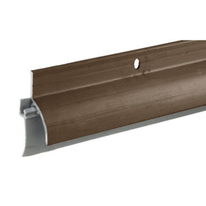 "Dark Bronze Anodized Door Sweep-Rain Drip Combination for 36"" Door"