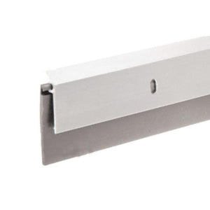 "Aluminum and Rubber Door Sweep for 36"" Door"