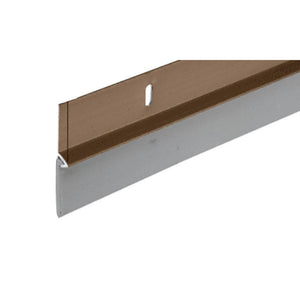 Brown Aluminum Door Sweep