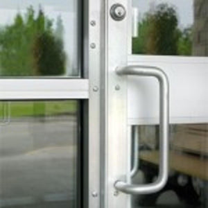 Anodized Silver Steel Security Astragal