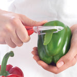 Vegetable Peeler - Red