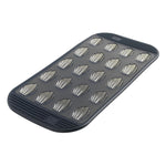 20 Silicone Mini-Madeleine Baking Pan - Grey Translucent
