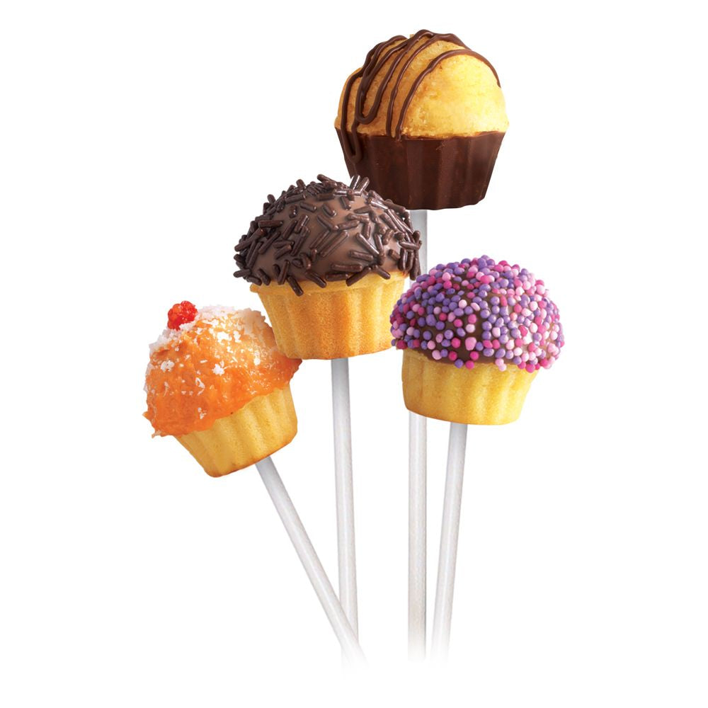 Silicone Cupcake Pops Pan - Grey Translucent