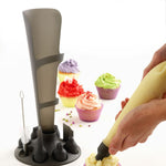 Silicone Pastry Bag Set - Grey Translucent