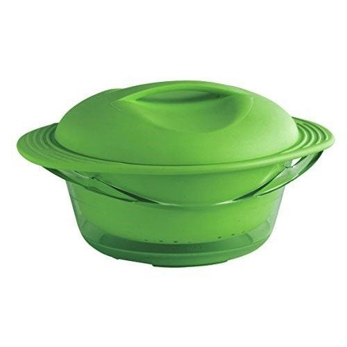 Silicone Multi Level Steamer - Green