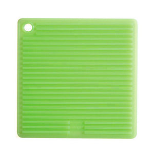 Silicone Square Pot Holder - Green
