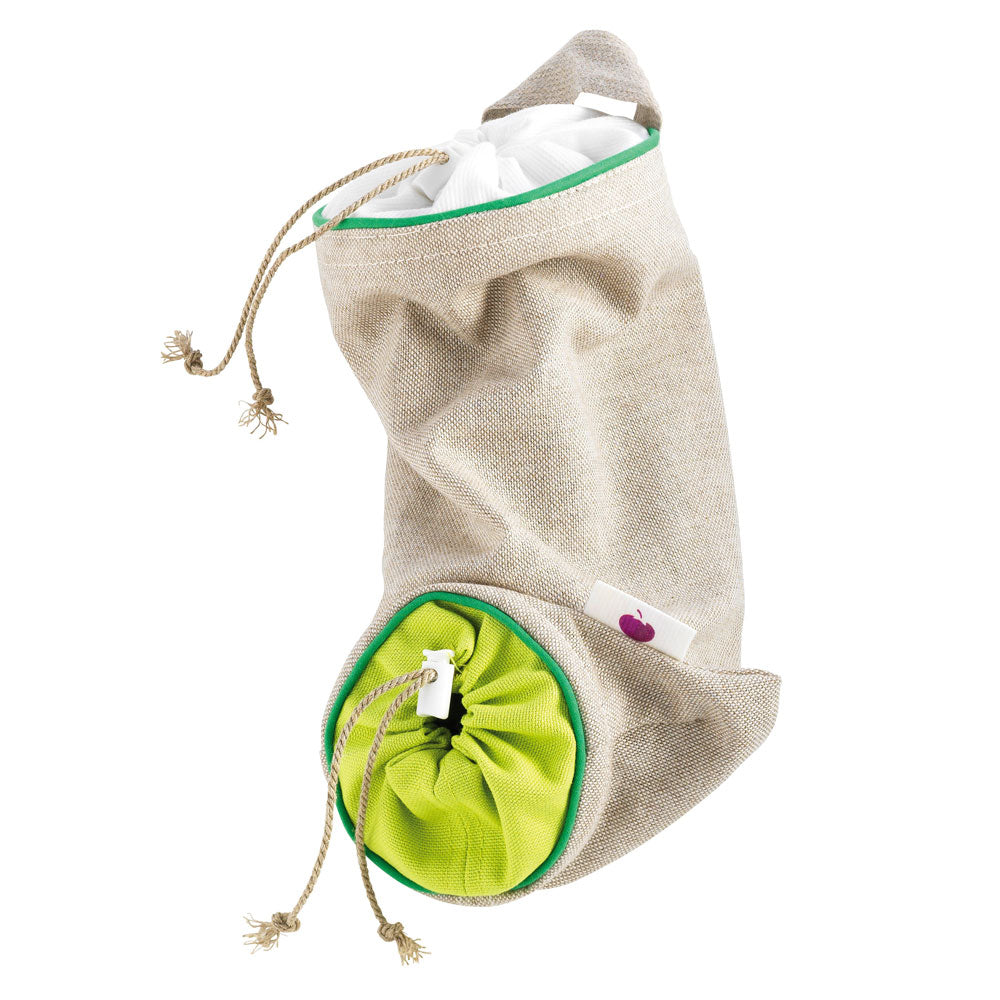 Garlic Storage Bag - Green