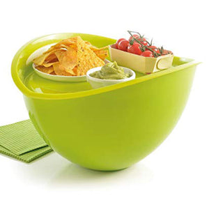 Salad Bowl & Tray - Coral