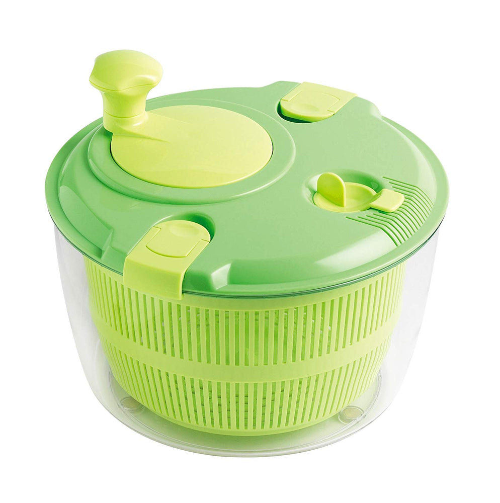 Large Classical Salad Spinner - Green
