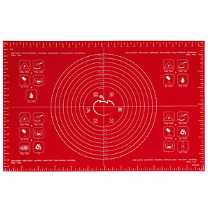 Pastry Mat - Red