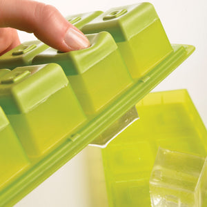 Flexible Large Cube - Ice Cube Tray - Green