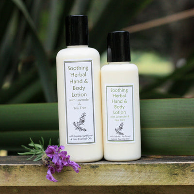 Soothing Herbal Hand & Body Lotion