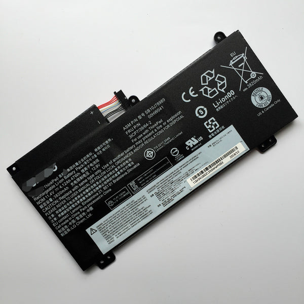 Lenovo ThinkPad S5 E560P 00HW041 00HW040 SB10J78989 47Wh Battery