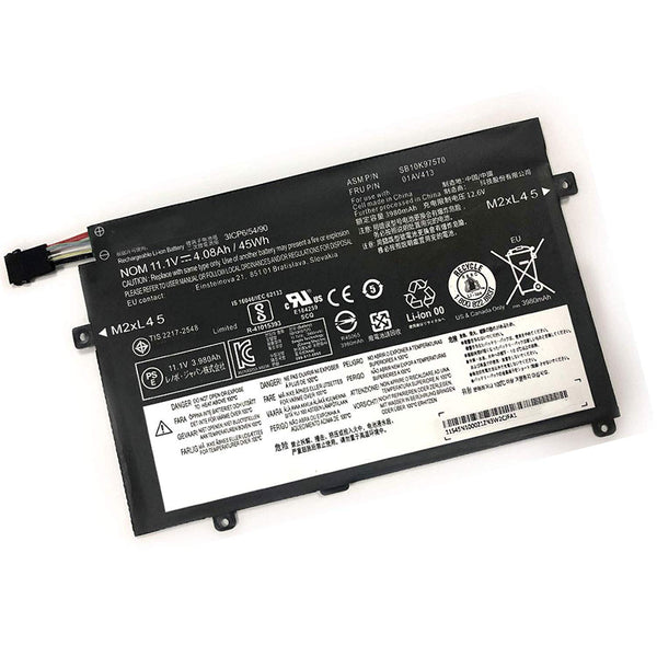 01AV413 01AV412 Battery for Lenovo ThinkPad Edge E470 E470C E475