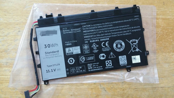 271J9 Battery For Dell 0GWV47 Latitude 13 7000 Latitude 13 7350 Series