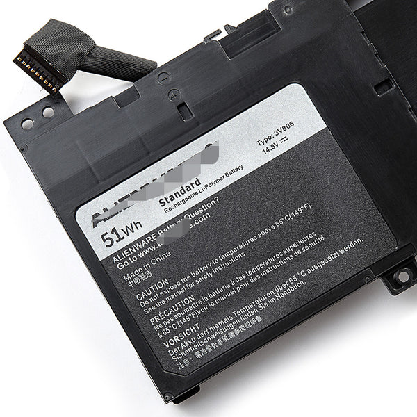 3V806 3V8O6 Battery For Dell Alienware ECHO 13 ALW13ED-1708 1608 QHD Series