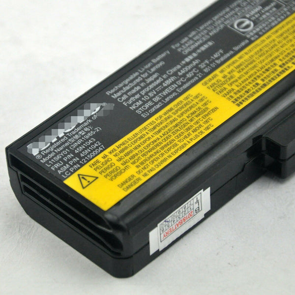 Lenovo 75+ IdeaPad Z380 E430 ThinkPad E531 45N1042 45N1043 Battery