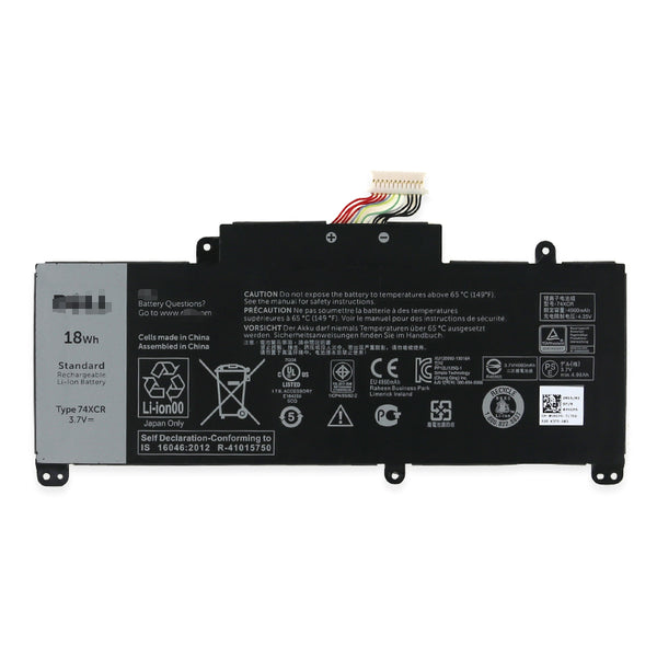 Dell 74XCR VXGP6, X1M2Y Venue 8 Pro 5830 Tablet Battery