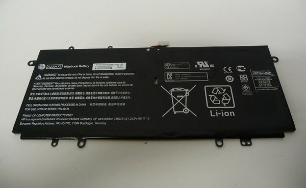 Hp A2304XL HSTNN-LB5R 738392-005 14-Q 14-Q010NR 14-Q020NR 51Wh Battery