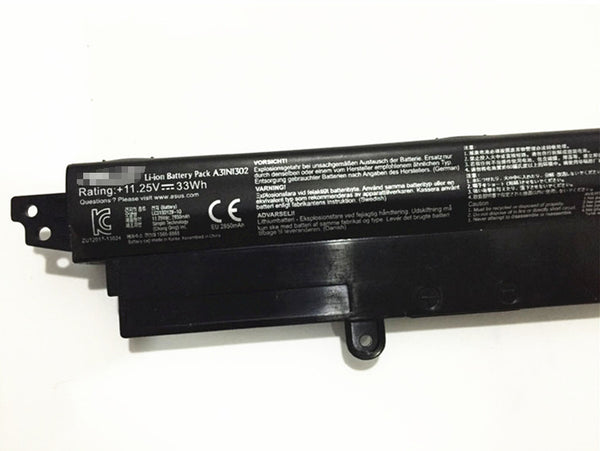 A31N1302 33Wh Battery for Asus VivoBook X200M X200CA X200MA K200MA