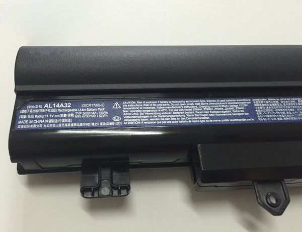 Acer Aspire E14 E5-411 E5-421 E5-471 E5-572G E5-571 AL14A32 6 Cell Battery