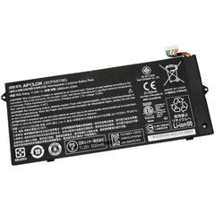 "AP13J3K 45Wh battery for Acer Chromebook 11.6"" C720 C720P C740 Laptop"