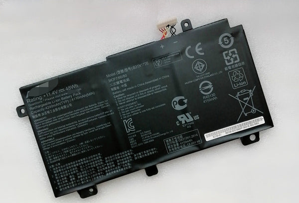 B31N1726 11.4V 48Wh Battery For Asus FX504 FX505 FX504GD FX504GE FX504GM