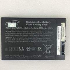 Motion BATKEX00L4 Tablet PC J3400 T008 Series 14.8V 2000mAh 30Wh Battery