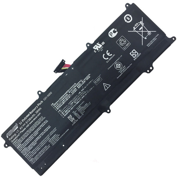C21-X202 38Wh Battery For Asus VivoBook Q200 Q200E S200E VivoBook X201 Series