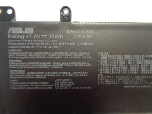 C21N1530 Battery for Asus Chromebook C202 C202SA C202SA-2A C202SA-3A 38Wh 7.6V