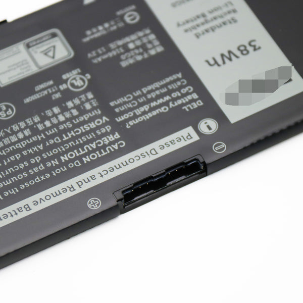 F62G0 11.4V 38Wh Battery For Dell Inspiron 13 5370 F62GO RPJC3