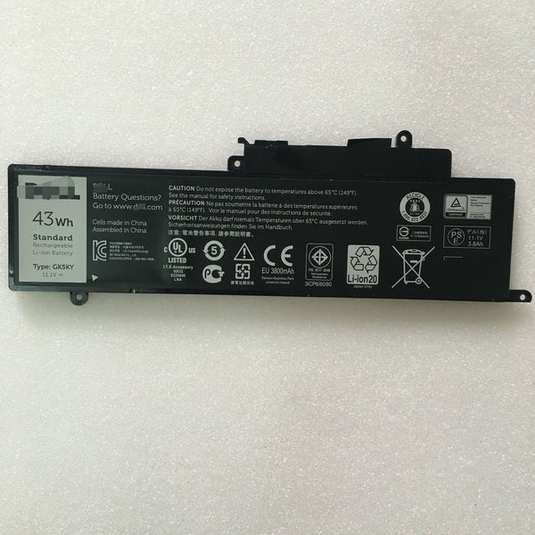 GK5KY Battery For Dell Inspiron 11-3147 Inspiron 13 700 0WF28 4K8YH