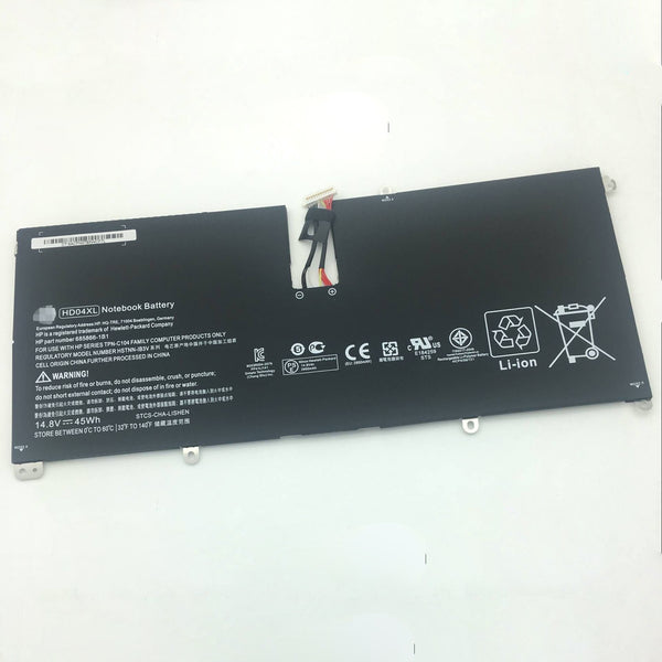 HD04XL 685866-1B1 Battery for Hp Envy Spectre XT 13-2120tu 13-2000eg