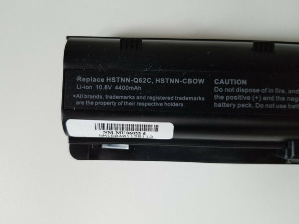 MU06 HSTNN-Q62C battery for HP CQ42 CQ43 CQ56 CQ57 CQ58 CQ62 CQ72