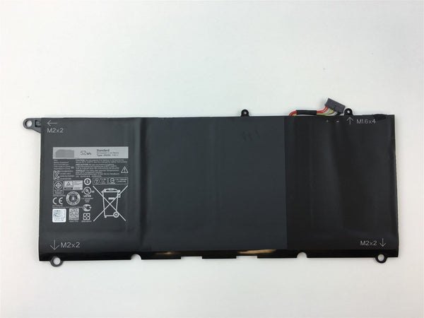 JD25G 52Wh Battery for Dell XPS 13 9343 9350 RWT1R Laptop Battery